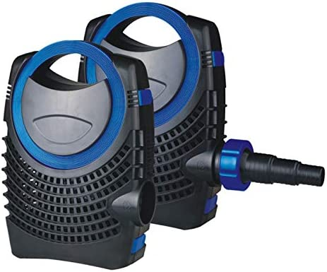100w Altura Agua 6.5m GRECH Bomba Sumergible 12000L//h estanques Pot