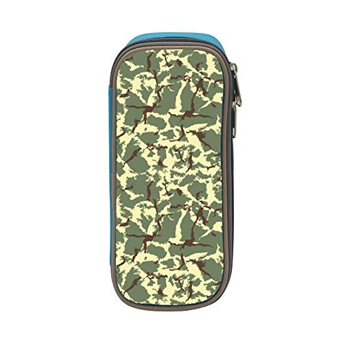 Desert Camo Durable Stationery Pen Bag With Double Zipper Large Capacity Pen Case for Boys Girls Students - Hon Binder