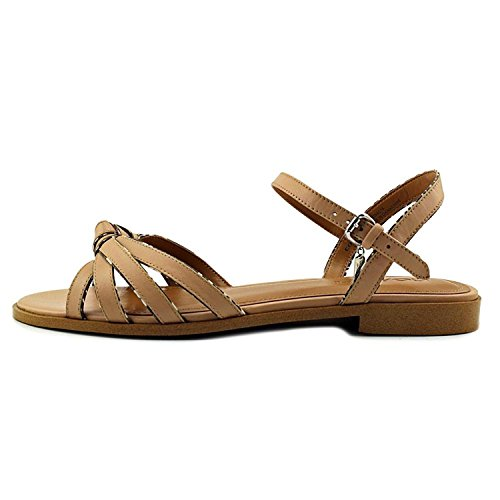 Open Strappy Land Toe Sandals Black Soft Coach Casual Womens Sophia Calf White Snake Beechwood qwW1WpE47