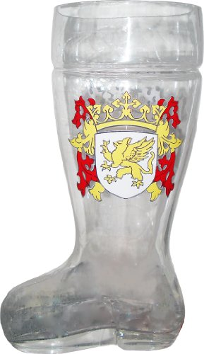 Glass Das Boot Beer Mug 2 Liter As Seen in Beerfest Review