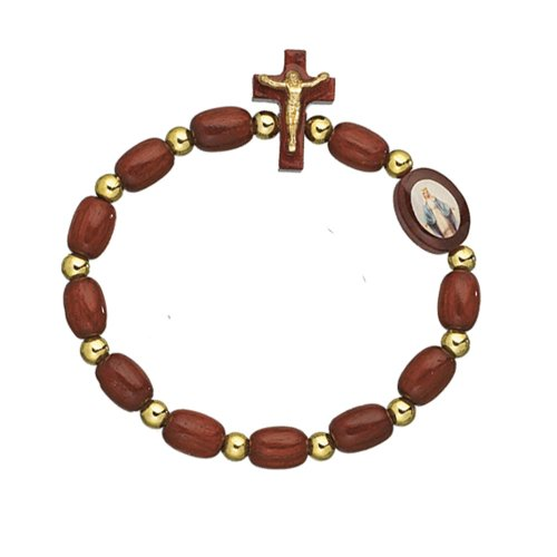 Wooden Beads Rosary Decade Bracelet product image