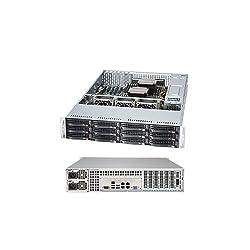 Supermicro 2U RM BB BLK E5-2600 V3 2133MHZ 12X SAS3/SATA3 920W RPS HASWELL SSG-6028R-E1CR12N