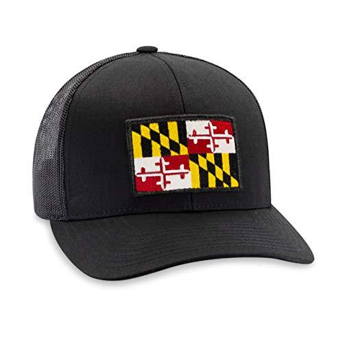 Maryland Flag Hat - Trucker...