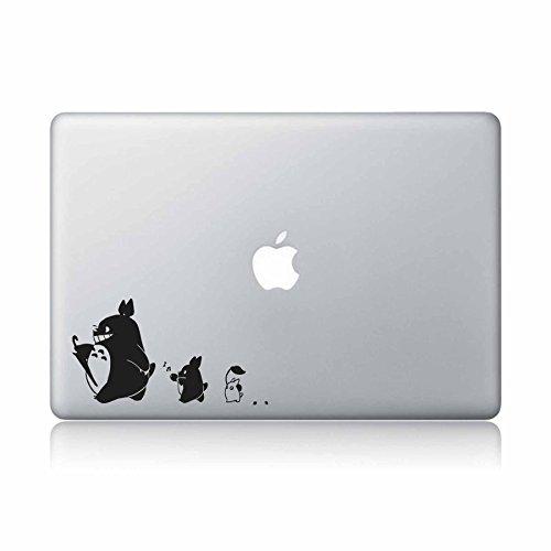 Neighbor Totoro Marching Apple Macbook Sticker product image