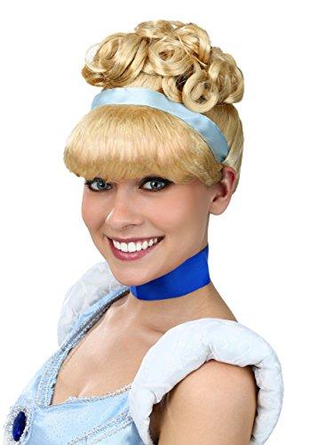 Women's Cinderella Wig Standard Yellow