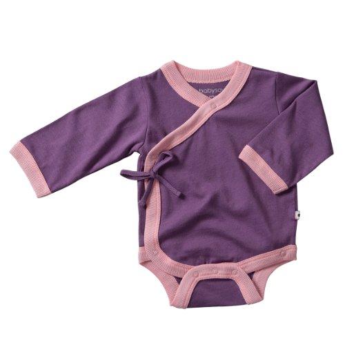 Babysoy Long Sleeve Kimono Bodysuit product image