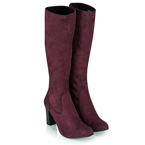 hot sale online 62067 0eee1 ... Caprice 7398 Stretch Stiefel Bordeaux Bordeaux. Fashion · Trends   Styling · Adidas B35572 Damen Laufschuhe Mehrfarbig VinwhtClonixFtwwht