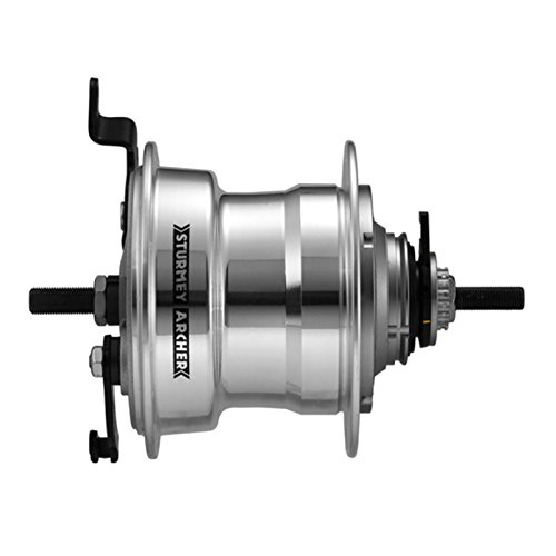 Sturmey Archer RXL-RD5 5-sp hub with 90mm Drum Brake ()