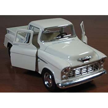 Set Of 4 Die Cast Chevy Stepside Pick Up 1 32 Scale