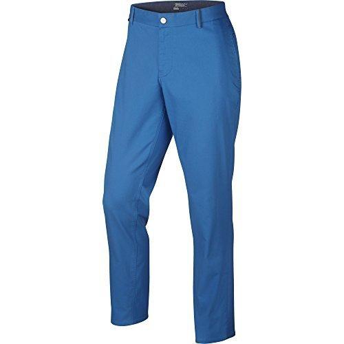 Nike Golf Modern Fit Washed Pants (Light Photo Blue/Midnight Navy/Varsity Maize/Wolf Grey) (Nike Modern Fit Pants)