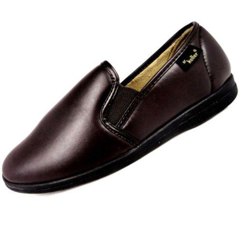 Dr Keller - Zapatillas de estar por casa para hombre marrón - marrón