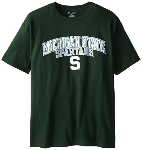NCAA Michigan State Spartans Champion Tee, Green, Large