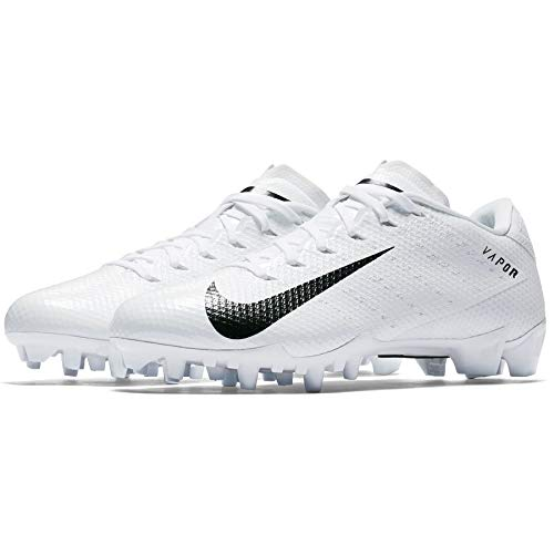 White Football Cleat - Nike Mens Vapor Untouchable Speed 3 TD Football Cleats 12 White