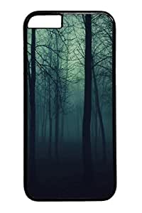 Case For HTC One M7 Cover Dark Forest PC Hard Plastic Case For HTC One M7 Cover inch Black