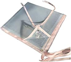 Lona Transparente Aislante térmico con Borde Perforado de plástico ...