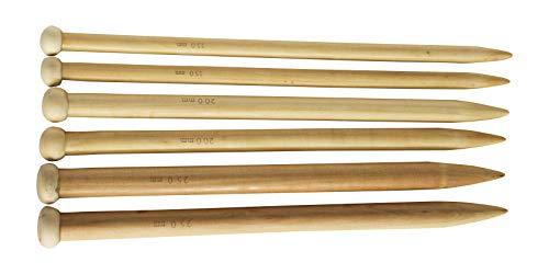 Needles Knitting Bamboo Straight (14