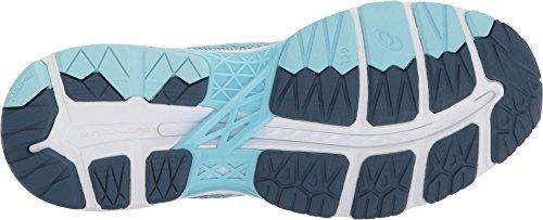 Asics Femme Gel-kayano 24 Chaussure De Course En Porcelaine Bleu / Fumé Bleu / Blanc