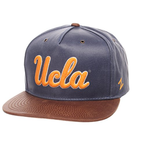 NCAA UCLA Bruins Men's Tribute Heritage Collection Hat, Adjustable, Team Color/Cracked Leather