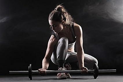 Amazon Com Muscular Mujer Deportes Ejercicio Bodybuilding