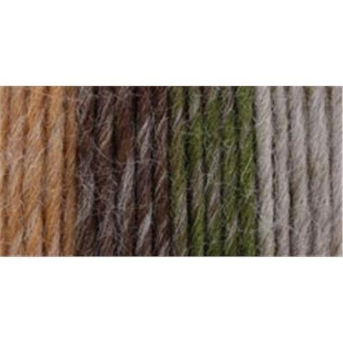 (Caron NOM061662 Vickie Howell Sheep(ish) Stripes Yarn, Earth(ish))