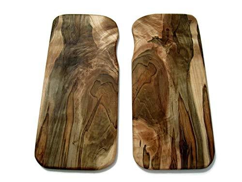 Rustic Maple Wood Trivet Set