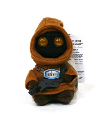 """Underground Toys Star Wars Talking Jawa 4"""" Plush"""