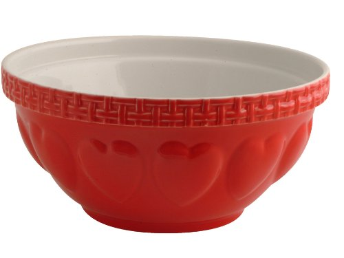 (Mason Cash Chip Resistant Earthenware S12 Red Mixing Bowl, Ceramic, 29 x 29 x 14 cm)