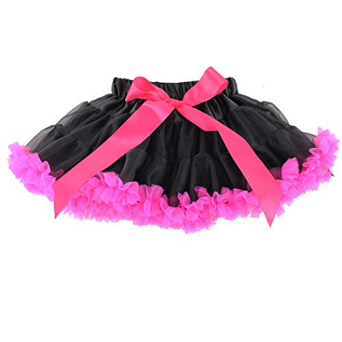 (Wennikids Little Girl's Dance Chiffon Pettiskirts Tutu Assorted Size and Color XX-Large)