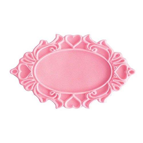 Katy Sue Mould - Decorative Plaque Oval Hearts