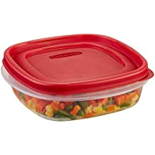 Rubbermaid Easy Find Lids Square 3-Cup Food Storage Container (Pack of 6)