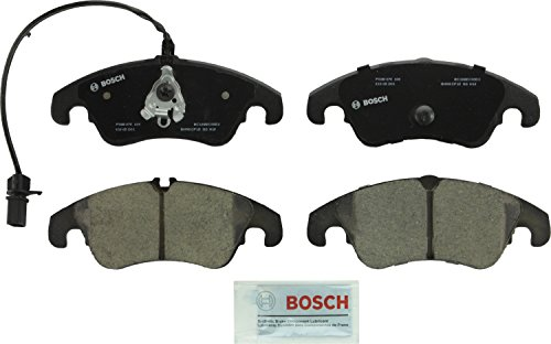 Bosch BC1322 QuietCast Premium Disc Brake Pad Set (Pad Set Quattro Brake)