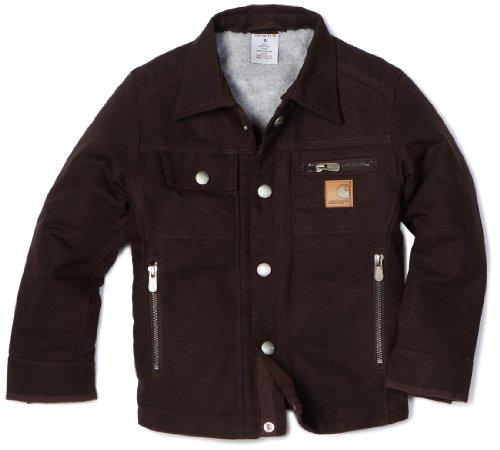 Carhartt Little Boys' Motor City Coat Sherpa Lined Jacket