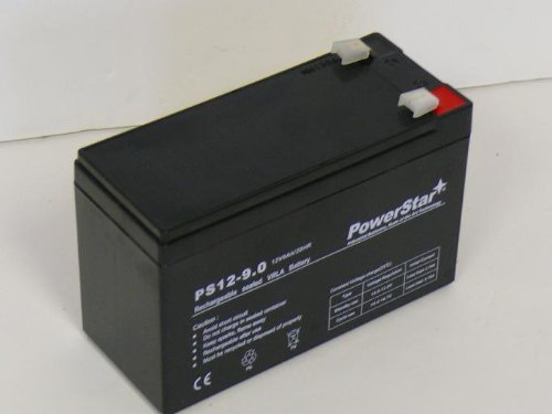 PowerStar 12V 9AH Sealed Lead Acid Deep Cycle Battery AGM 3 Year Warranty
