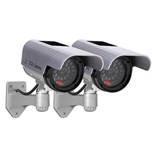 Sunforce 82342 Solar Decoy Camera, (Twin Pack) - Buy Online