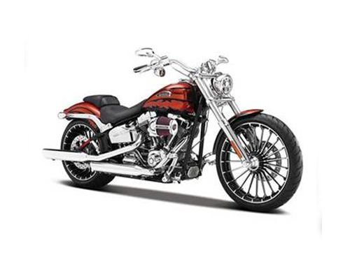 Harley Toy (2014 Harley Davidson CVO Breakout Motorcycle Model 1/12 by Maisto 32327)
