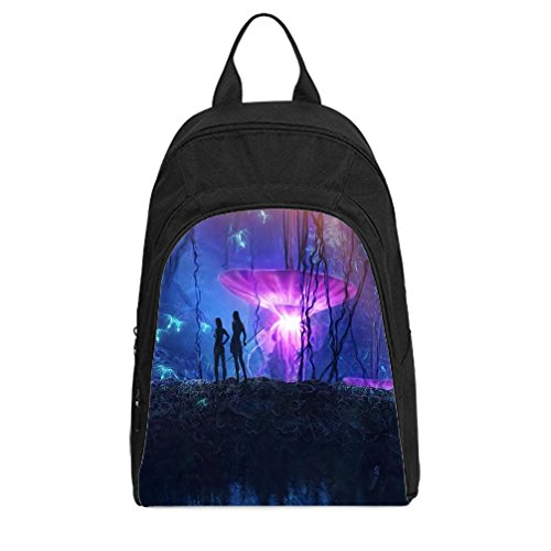 [JIUDUIDODO Personalized Halloween Gift Avatar Oxford Fabirc School Bags Backpacks Outdoor Bags Shoulder] (Avatar Makeup)