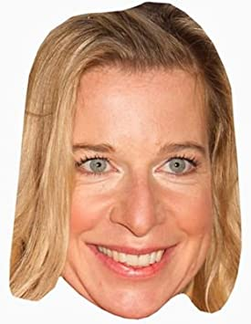 Katie Hopkins Celebrity Mask Card Face and Fancy Dress Mask