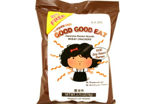 Wheat Cracker Japanese Ramen (Soy Sauce Ramen Flavor) - 2.75oz (Pack of 6)