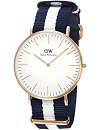 Daniel Wellington Men's 0104DW Classic Glasgow Analog Display Quartz Two Tone Watch
