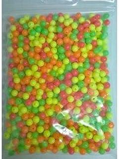 ALCIUMPECHE Sachet de 1000 Perles 5 mm Couleurs Assorties