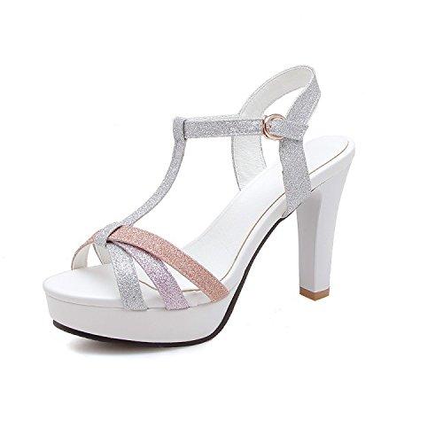Woherren schuhe Comfort Sandals Walking schuhe   Damen Sandalen   Sandalette Meine Damen Big yards Sandalen   stilvolle wasserdicht Plateau Sandalen