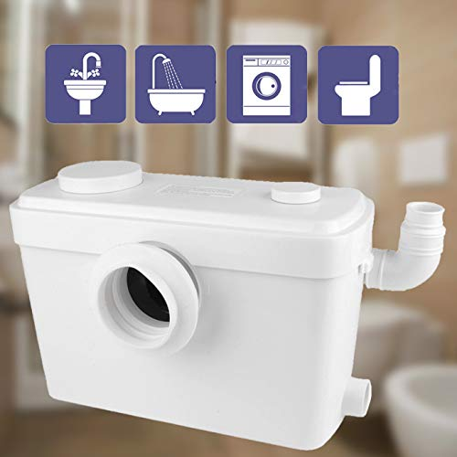 Trupow 600W 110V Macerator Sewerage Pump Waste Water Marine Toilet Bathroom Disposal Laundry
