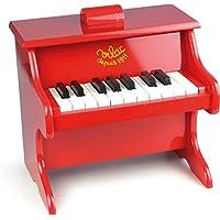 Vilac piano, röd, för småbarn