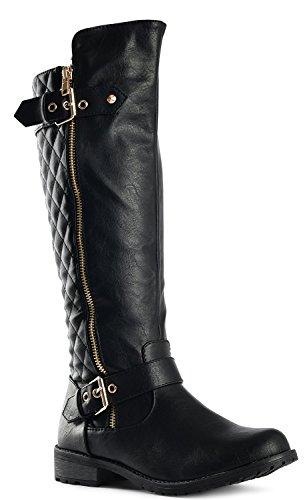 Lady Mango Mango 21 Forever Lady Link Forever Black Boots 21 Link OdSWaq