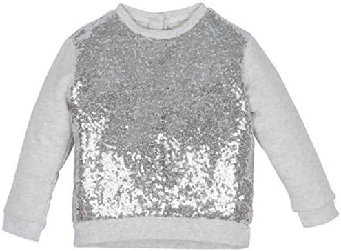 Nenè - Camiseta Bio de manga larga para niña, color gris con ...
