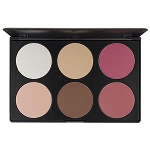 Blush Professional 6 Colour Contour / Blush Palette by Blush Professional