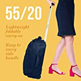 Lipault - 0% Pliable Foldable Upright 55/20 Luggage