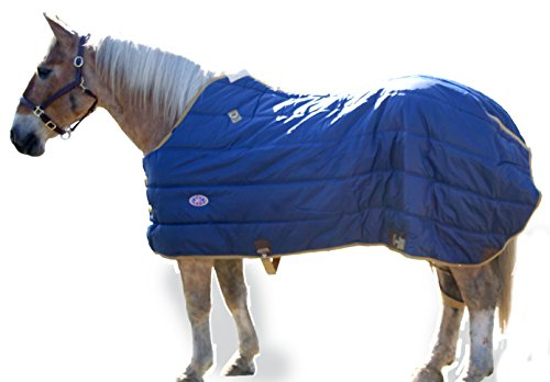 Horse Stable Blanket (Derby Originals 420D Nylon Winter Horse Stable Blanket, 72