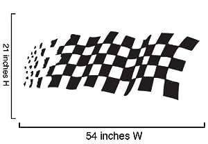 Vinyl Wall Decal Sticker Checker Pattern #535