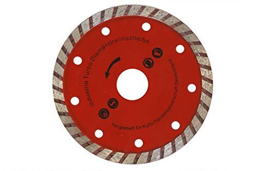 150mm TURBO Diamanttrennscheiben Diamantscheiben Stein Fliesen Beton 150x25, 4mm Kutlu Deutschland GmbH